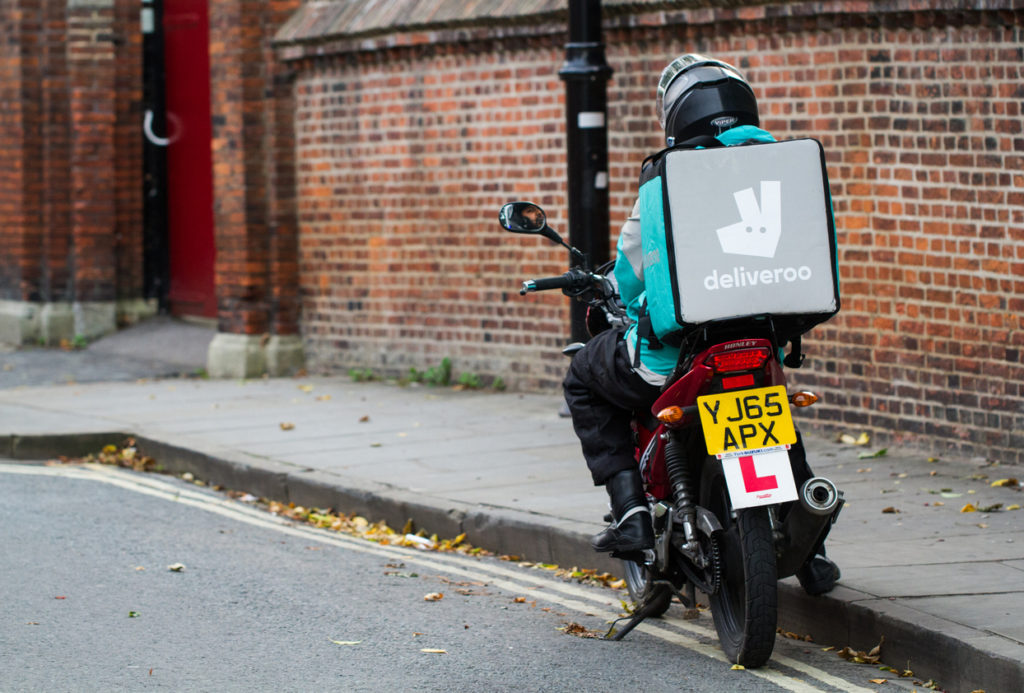 high-growth business - deliveroo